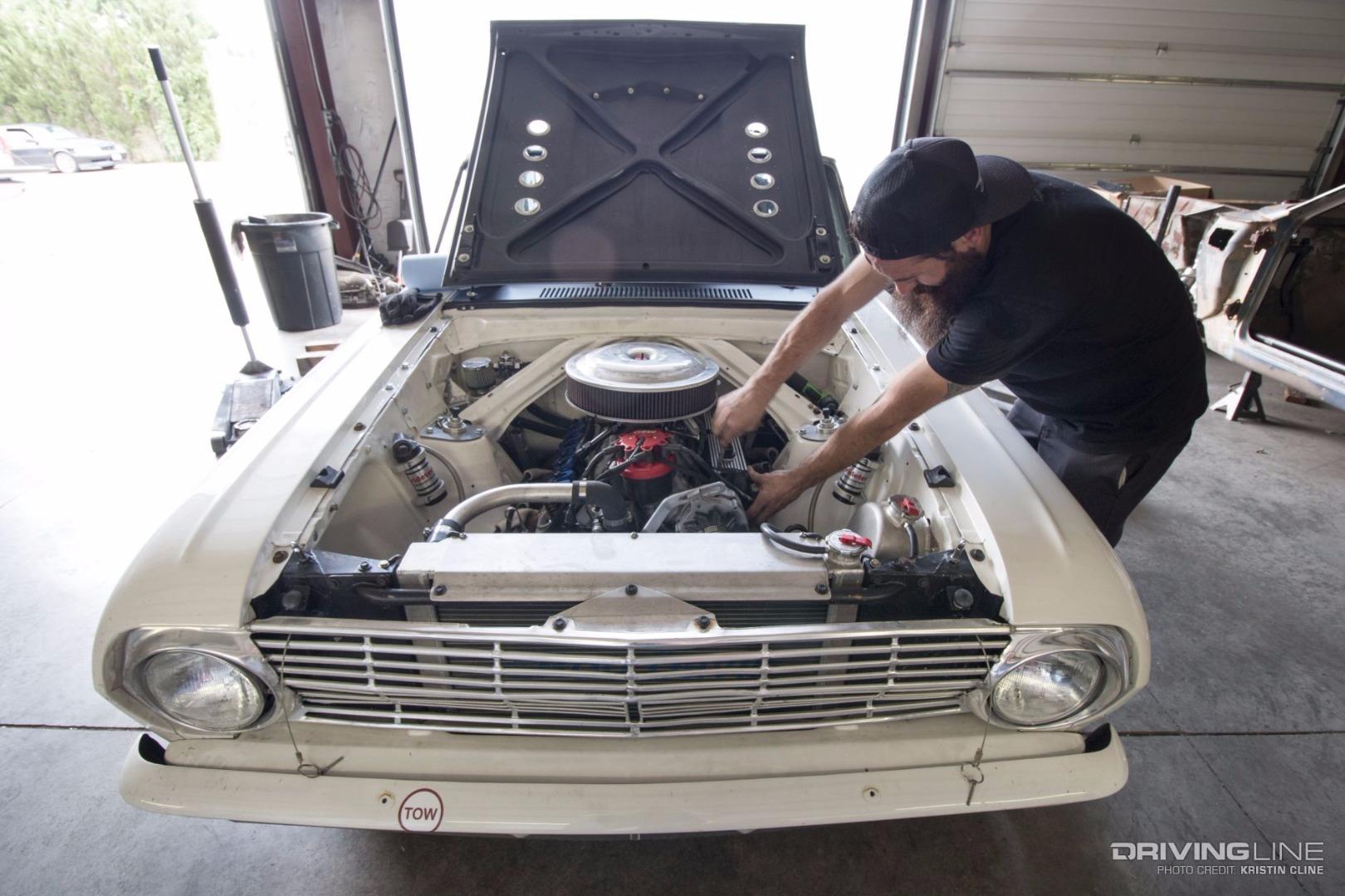 Gas Monkey Garage S Aaron Kaufman Takes On Pike S Peak In