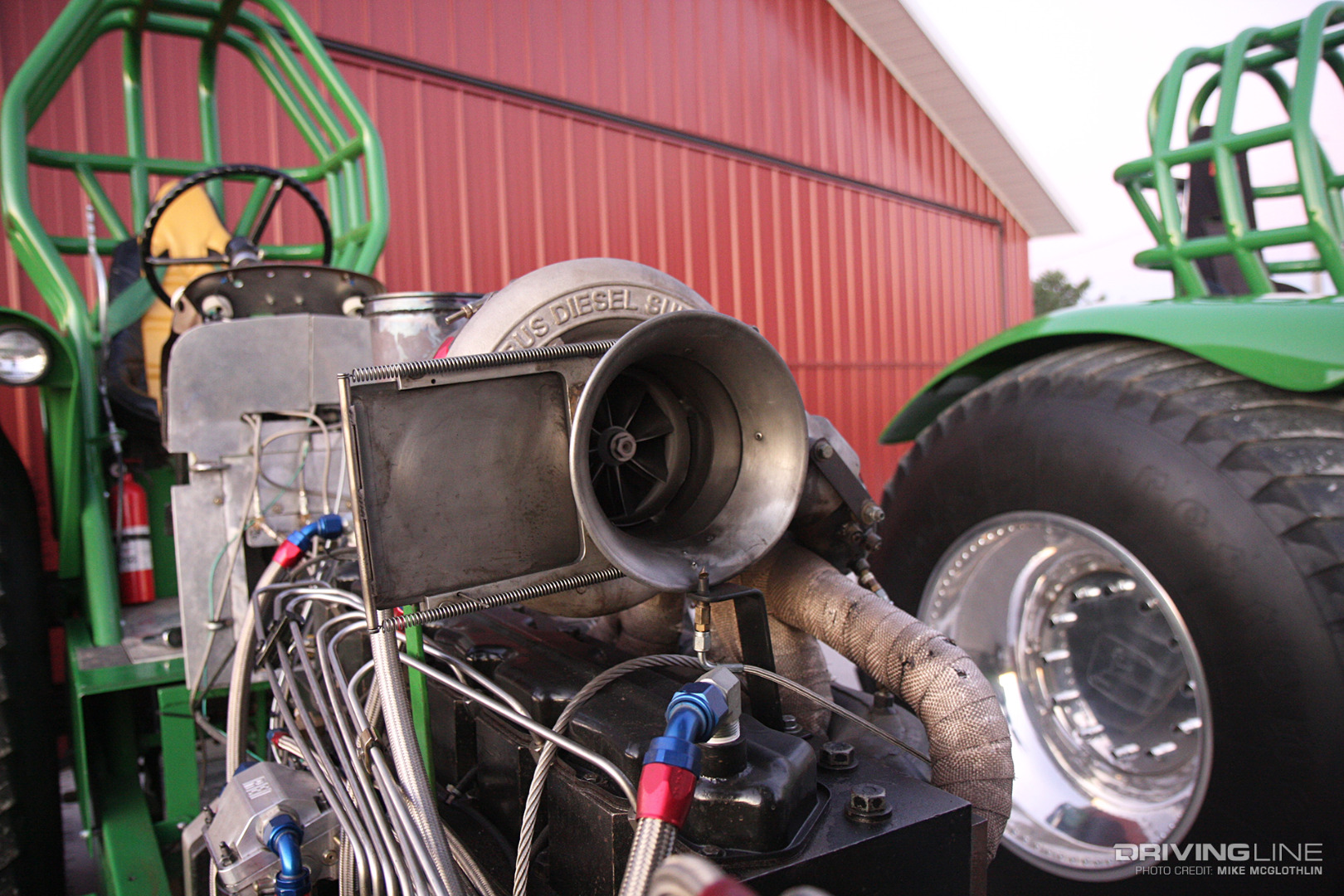 Anatomy of a Pro Stock Tractor | DrivingLine