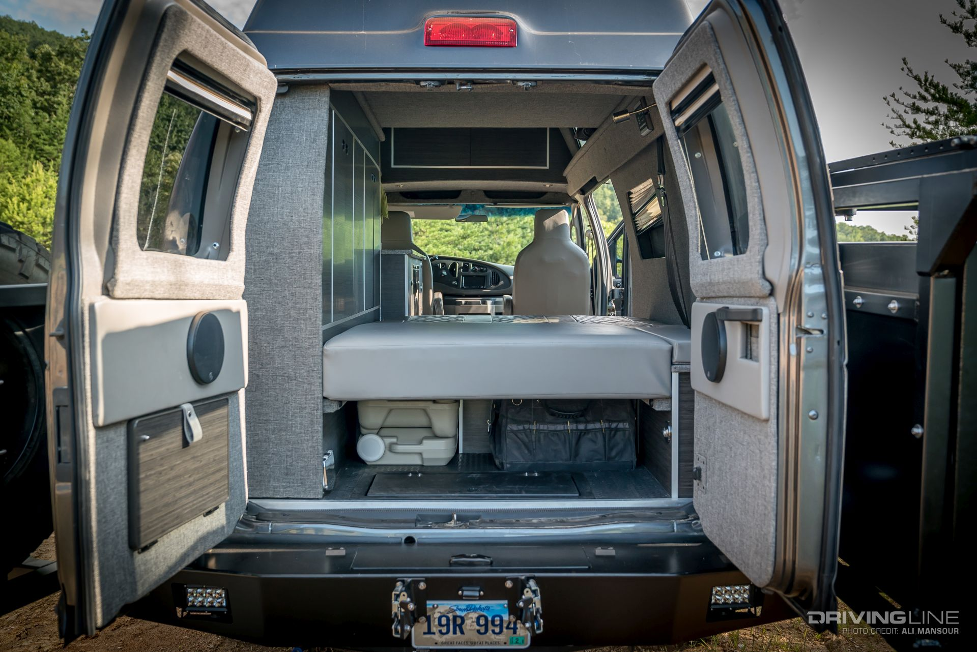 Alpha Van: The Ultimate Overland Ford E-350 4x4 [Video ...