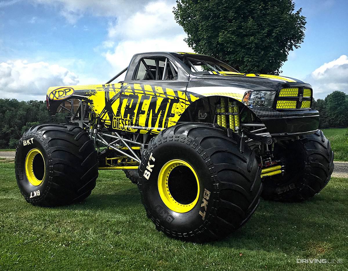 5 Greatest Diesel-Powered Monster Trucks