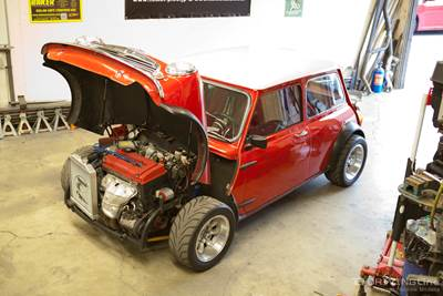 Not for the Faint of Heart: Honda Swapped Mini | DrivingLine