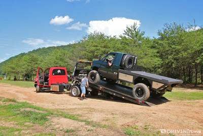 73f4e089c6 When Feature Shoots Go Bad  A Lesson In Sterling 10.5 Axles.  Ford-E-350-4x4-van-ujoint-off-road-
