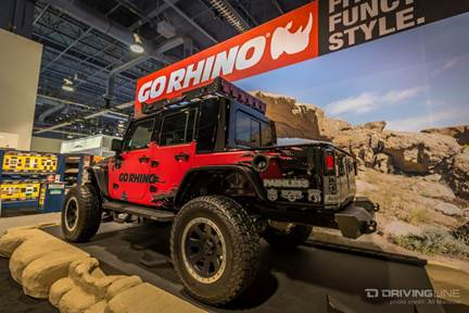 Jeeps of SEMA 2015 | DrivingLine