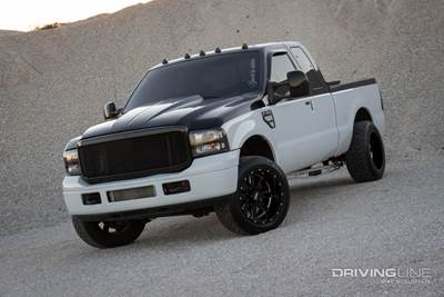 Chasing 1,000 Horsepower With a 2006 Ford F-350 | DrivingLine