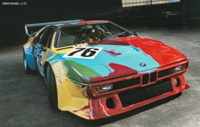 The BMW Art Car Gallery: First Floor   DrivingLine