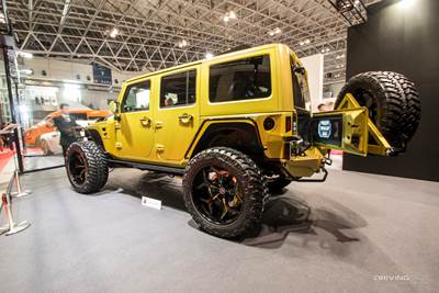 The Unexpected Jeep Wrangler Unlimited of Tokyo Auto Salon