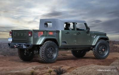 2016 Jeep Truck >> Three Trucks A Diesel And A 707hp Hellcat Wrangler