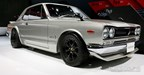 While showing off the 2017 GT-R, Nissan honored off the evolution of this iconic car, by featuring several on the floor including this Skyline 2000 GT-R.