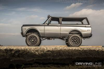 Chevy K5 Blazer Custom Fit for Everyone from Rockstars to Rock