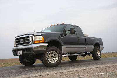 history of ford diesel trucks