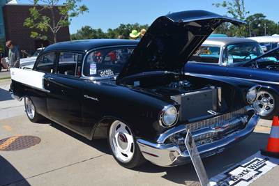 Tribute To A Classic Nascar Icon 57 Chevy 150 Black Widow