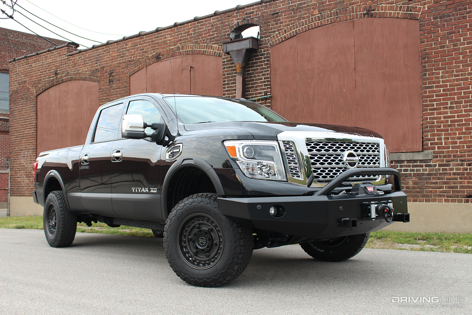titan nissan xd wheels rhino armory built drivingline