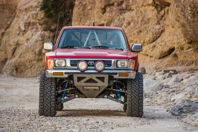 Seeing Red: A Timeless Truck for the Toyota Fanboys