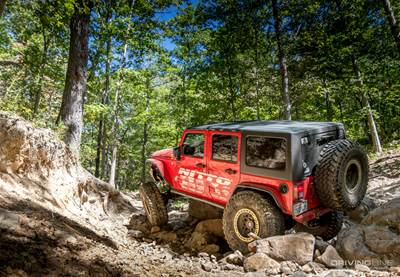 Wheels In Motion- 2017 JK Experience Big River [Video
