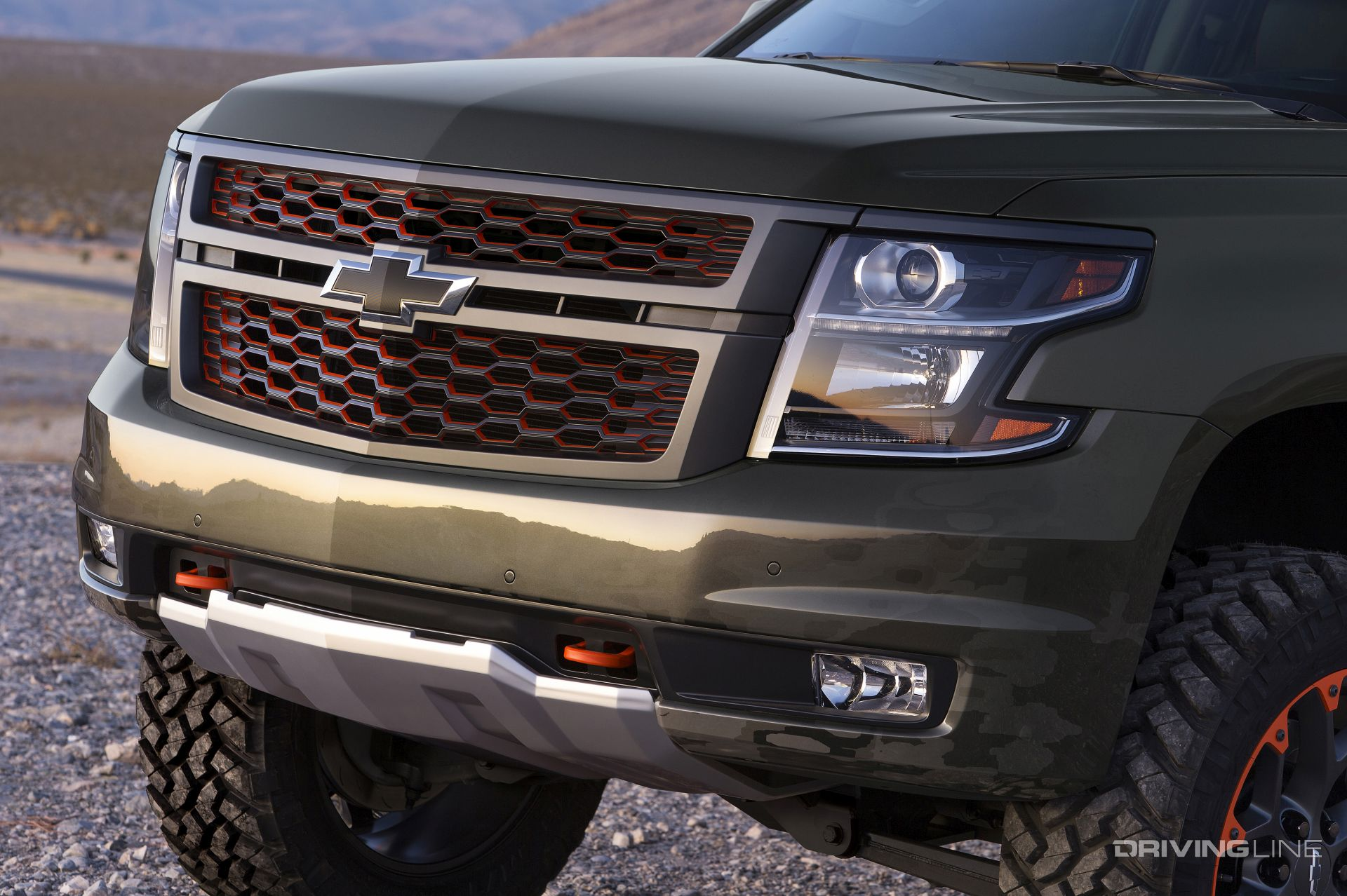 Luke Bryan's 2018 Chevy Suburban Concept | DrivingLine