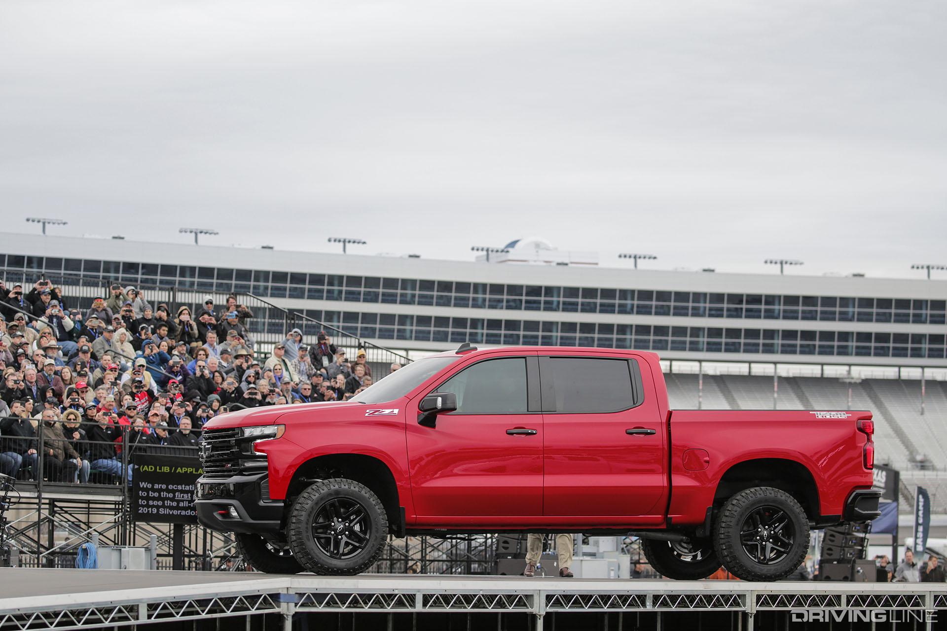 Trail Boss: Chevy Shows Off Next Gen 2019 Silverado in Texas | DrivingLine