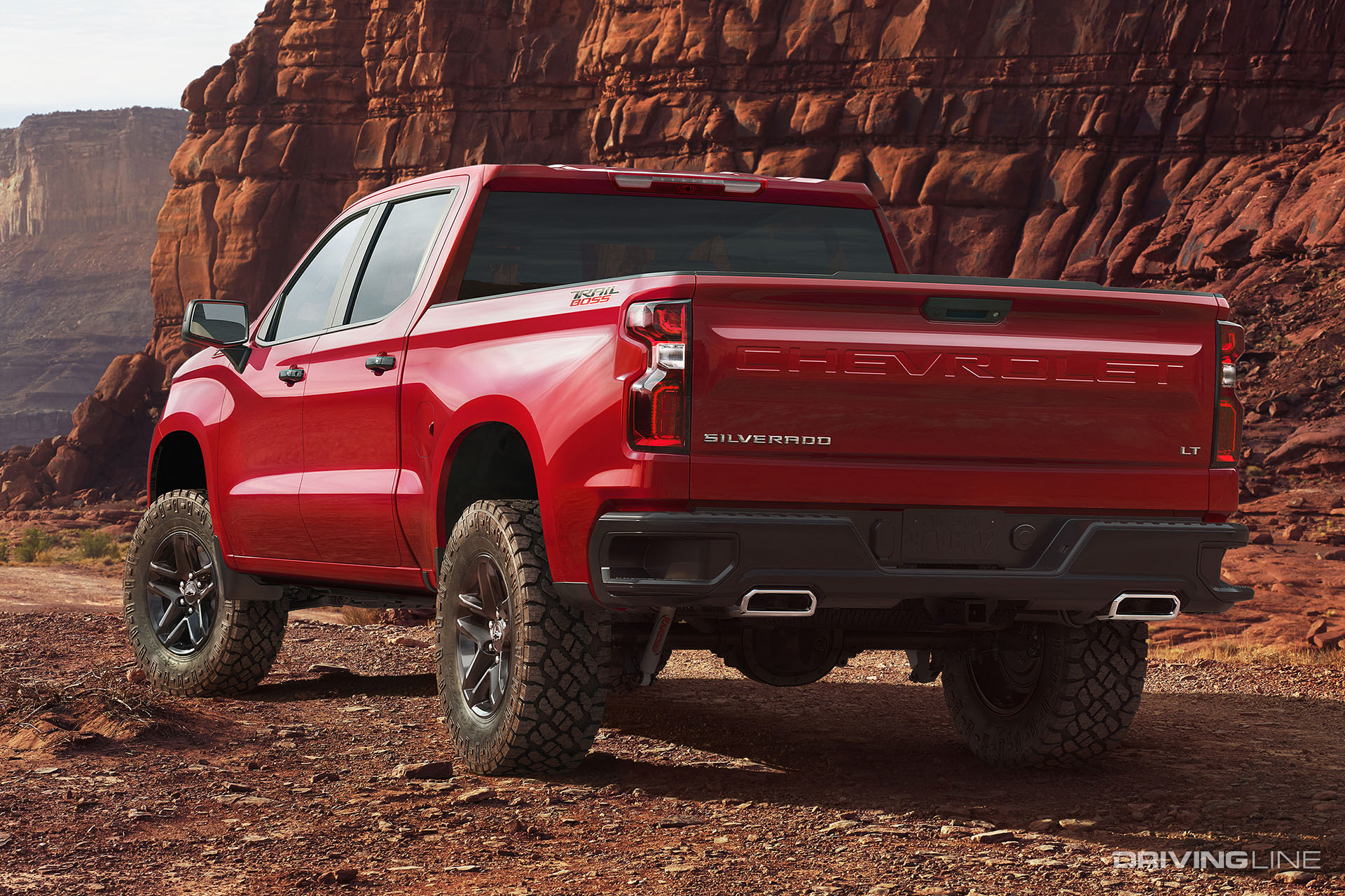 Trail Boss: Chevy Shows Off Next Gen 2019 Silverado in Texas | DrivingLine