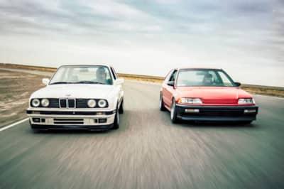 Driver Battles Episode 1 Ef Civic Vs E30 Bmw Video Drivingline