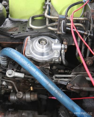 crank up the fuel screw: free!