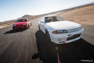Driver Battles Episode 3: Porsche 996 Turbo vs  Nissan R32