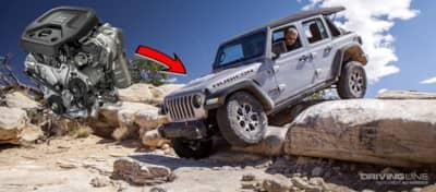 2018 Jeep Wrangler Jl 20 Turbo Four Cylinder