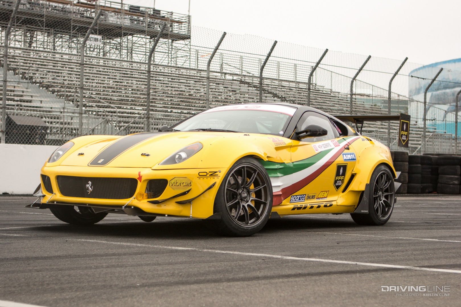 Ride Of The Week Drift Ferrari 599 Gtb Fiorano Drivingline