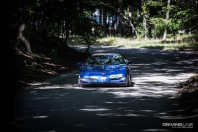2002 Corvette Empire Hill Climb Winner
