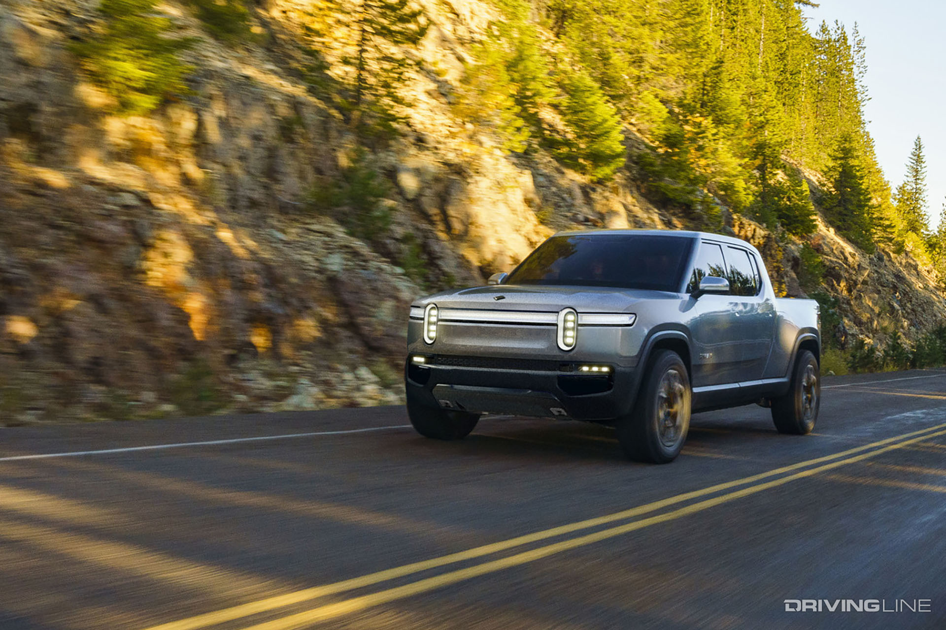Rivian RT1: The Super Fast, Super Capable Electric Pickup of the Future?   DrivingLine