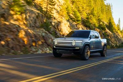 Rivian RT1: The Super Fast, Super Capable Electric Pickup of