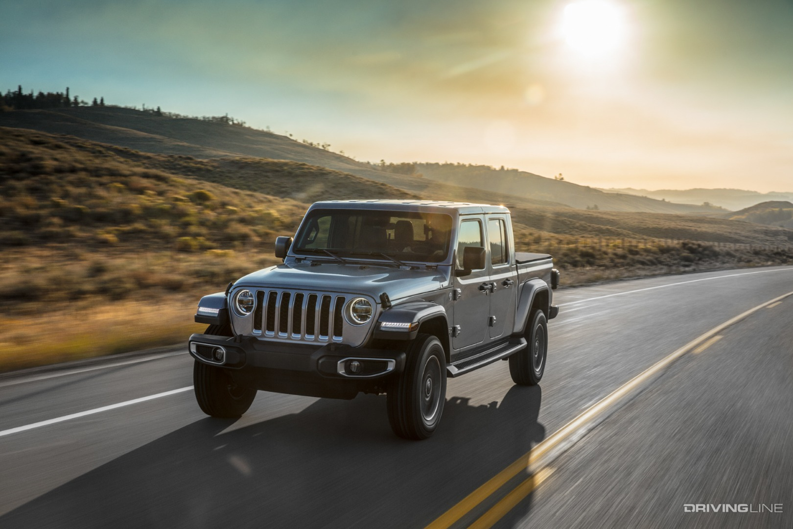 2020 Jeep Gladiator Unveiled | DrivingLine