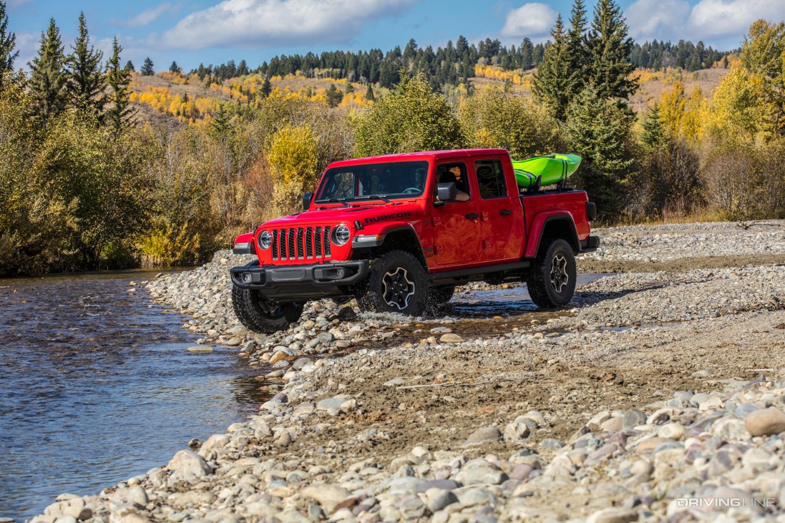 2020 Jeep Gladiator Unveiled | DrivingLine