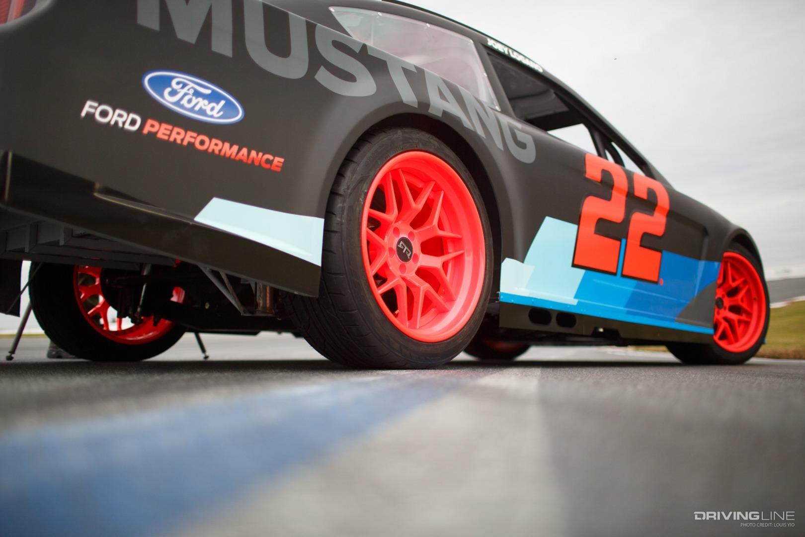 Nascar Mustang Drift