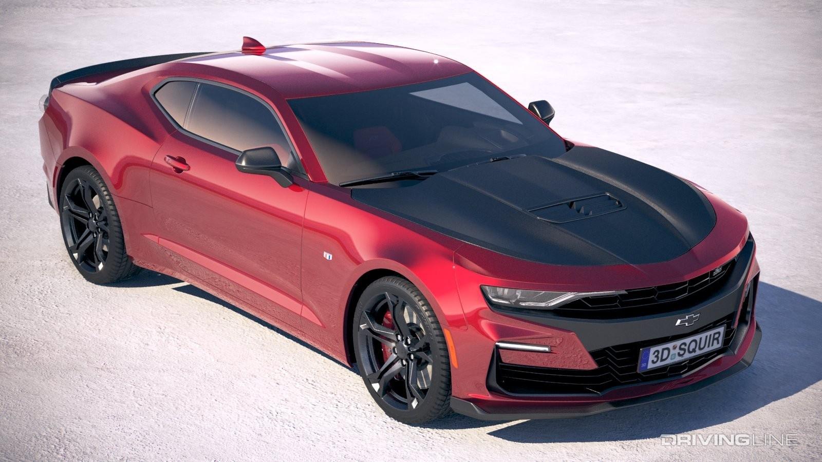 Mustang Vs Camaro >> Track Muscle Showdown: Mustang GT PP2 vs Camaro SS 1LE ...