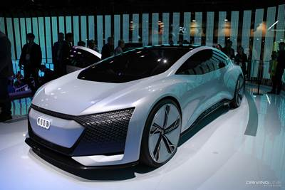 The Craziest Part Of Aicon Concept Is That Its Interior Features No Steering Wheel Or Pedals Fully Autonomous And Audi Plans To Have A