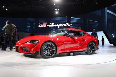 Toyota Ft1 Price >> 2020 Toyota Supra Arrives With 50k Price Tag 335hp Drivingline
