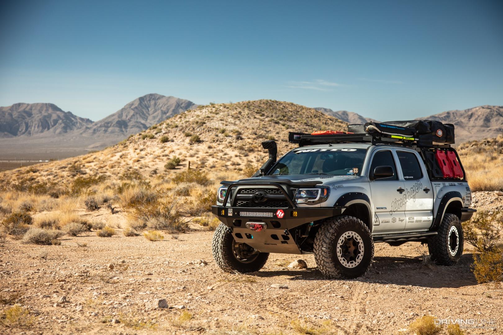 Jimahajer's Epic Overland Toyota Tacoma | DrivingLine