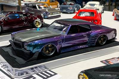 8 Awesome Model Car Builds from NNL West | DrivingLine
