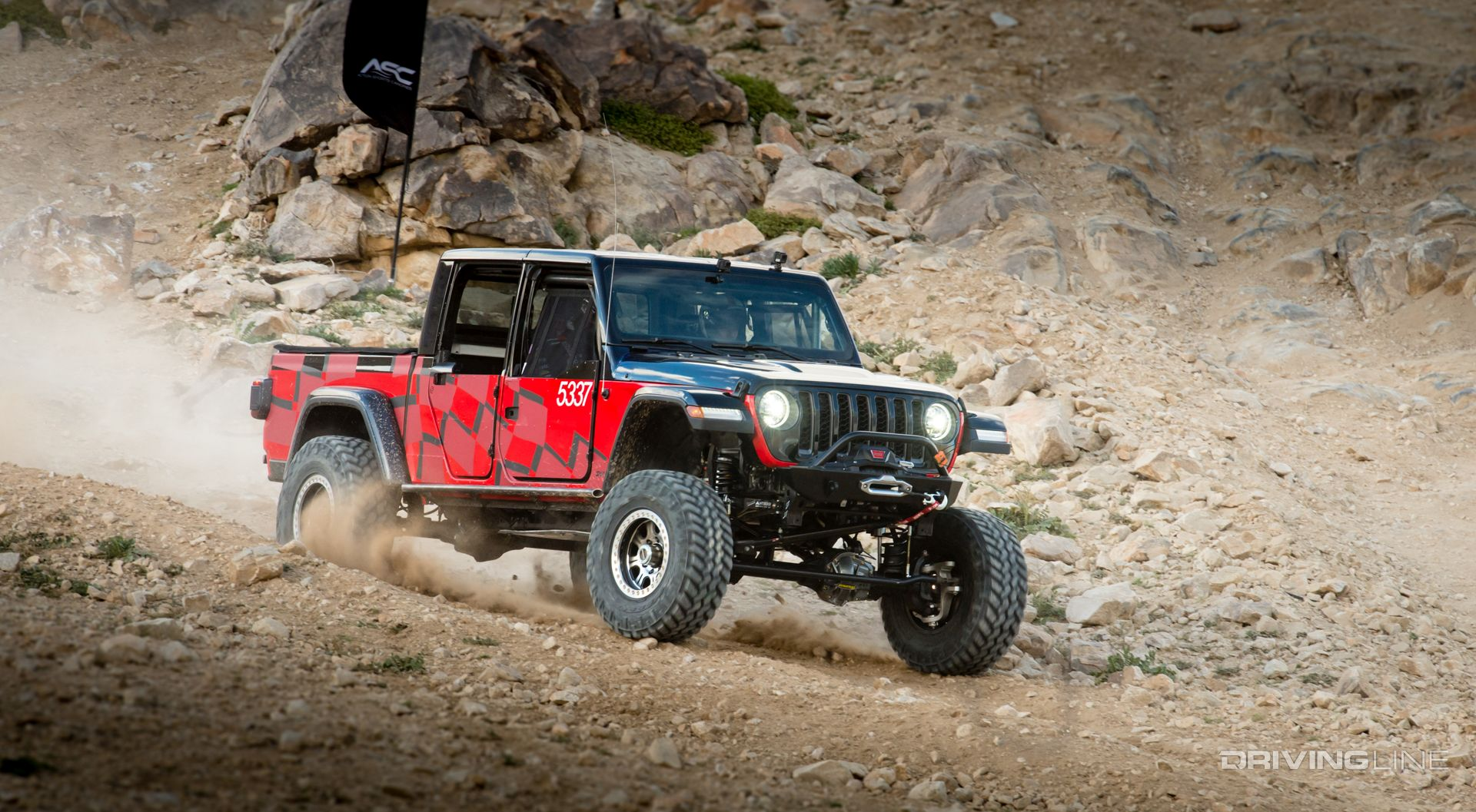 The 2020 Jeep Gladiator Goes to Battle | DrivingLine