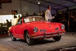 A Volkswagen Karmann Ghia hits the RM Auction block at Amelia Island. photo credit: Tara Hurlin