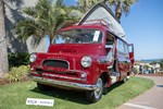 A rare 1961 Bedford CA Dormobile displayed at the Amelia Island Concours photo credit: Tara Hurlin