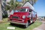 A rare 1961 Bedford CA Dormobile displayed at the Amelia Island Concours photo credit: Tara Hurlin