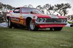 This Dodge Funny Car was uncovered just after sunrise at the Amelia Island Concours. photo credit: Tara Hurlin