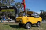 Ferrari and Fiat combined forces to create the Ferves Ranger in 1967. Only 600 examples were made and less than 10 made it to the U.S. photo credit: Tara Hurlin