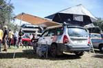 A Subaru Expedition rig set up camp at Hagerty's Concours d'Lemons in Amelia Island. photo credit: Tara Hurlin