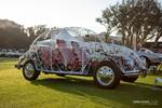 The 1969 Beetle Wedding Car has a body crafted entirely out of wrought iron. photo credit: Tara Hurlin
