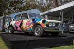 This restored  BMW E3 is the result of BMW's New Horizon Project, a celebration of the car's 50th Anniversary and the innovative and groundbreaking technology it represents. photo credit: Tara Hurlin