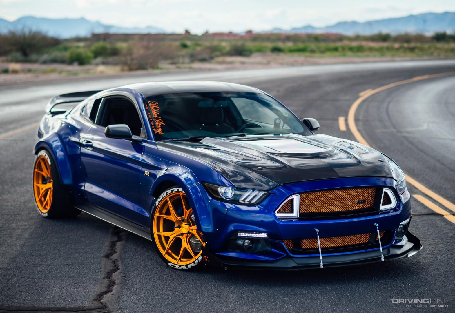 Ride of the Week: 2015 Widebody Mustang   DrivingLine