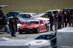 Jimmy Up Matsuri drift bash Adam Knapik S14 Nissan 240SX in the pits