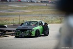 Jimmy Up Matsuri drift bash Nissan S13 240SX in the pits Silvia front end