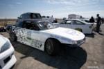 Jimmy Up Matsuri drift bash Vuong Nissan S14 240SX in the pits